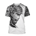 Jesus Tattoo 3D All Over Printed Shirts
