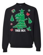 Tree Rex Christmas Sweatshirt