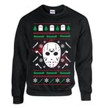 Jason scary horror christmas sweatshirt