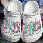 Blessed To Be Called Grandma Unisex Clog Shoes