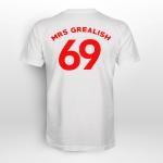 Mrs Grealish Print Back Side Shirt