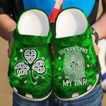 Irish Shamrock Shenanigans It's My DNA Unisex Clog Shoes