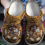 Wolf American Native Unisex Clog Shoes