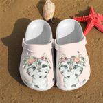 Little Cat Flowers Unisex Clog Shoes