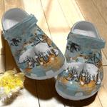 Big Bear Camping Metal Unisex Clog Shoes