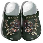 Eagle US Veteran Unisex Clog Shoes