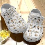 I Love Corgi Unisex Clog Shoes for Men & Women