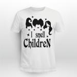 I Smell Children Halloween Witch Shirt