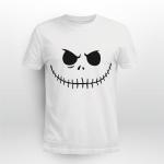 Jack Skellington Face Pumpkin Halloween Shirt