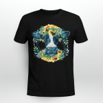 Cow And Sunflower, Gift for Cow Lovers Shirt
