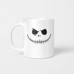 Jack Skellington Face Pumpkin Halloween Coffee Mug