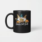 Gnome Sunflower Happy Fall Y'all Coffee Mug