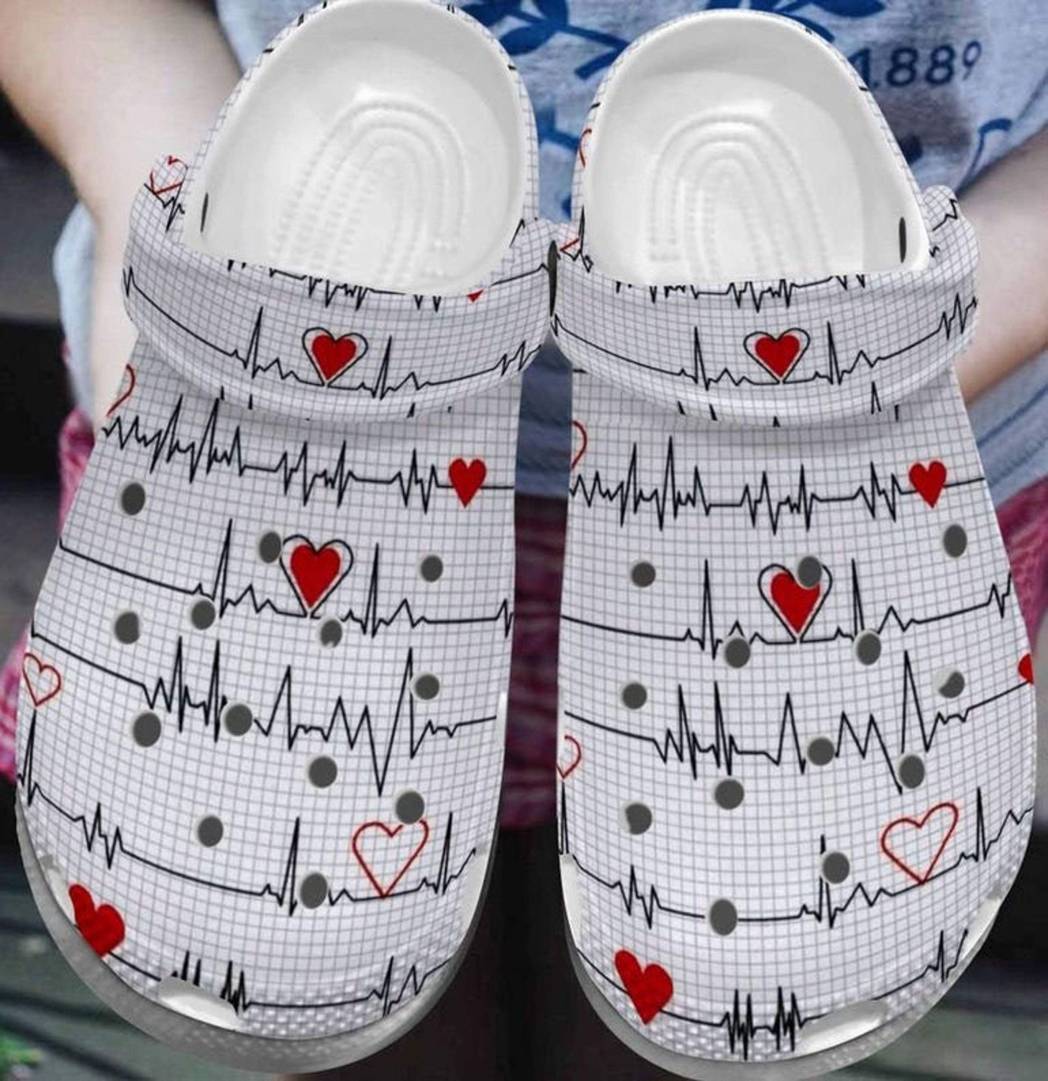 Nurse Heartbeat Unisex Clog for Men & Woman