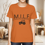 Milf Mom In Love With Farming Shirt