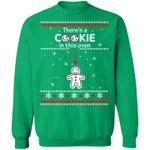 Christmas Couple Sweatshirt Pregnancy Announcement I Put A Cookie Shirt