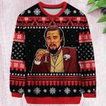 Laughing Leo Leonardo 3D All Over Print Christmas Sweater