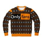Only Fans Dank Funny 3D All Over Print Christmas Sweater