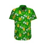 Psyduck Weed Leaf Hawaii Shirt