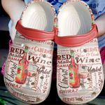 Red Wine Unisex Clog Shoes