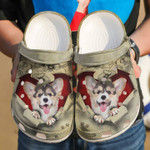 Corgi They Steal My Heart Unisex Clog Shoes
