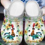 Chicken Moana Heihei Unisex Clog Shoes