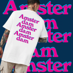 Exclusive City Collection - Amsterdam T-shirt - Trendy Shirt, Unisex Shirt, Gifts For Buddies