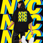 Exclusive City Collection - New York City T-shirt - Trendy Shirt, Unisex Shirt, Gifts For Buddies