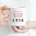 I'll Be Watching You - Funny Mug - Personalized Coffee Mug for Dog Lovers