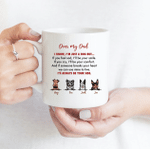 I'll Always Be Your Side - Funny Mug - Personalized Coffee Mug for Dog Lovers
