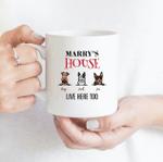Dog House - Funny Mug - Personalized Coffee Mug for Dog Lovers