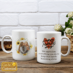 Personalized Two-sided Mug For Family - Happy Mother's Day Custom Photo - Anniversary Gifts