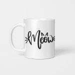 Meow Icon - Funny Mug - Gift Idea For Pet Lovers