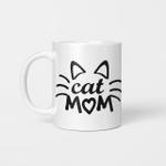 Cat Mom 002 - Funny Mug - Gift Idea For Pet Lovers