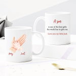Personalized Two-sided Mug For Family - A Son Is One Of The Best Gifts The World Has To Give Me - Anniversary Gifts