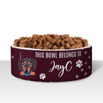 Personalized Pet Bowls Belongs To 003 - Gift for Dog Lovers