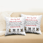 Personalized Throw Pillow - I'll Always Be Your Side - Personalized Gifts For Dog Lovers