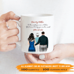 Personalized Coffee Mug - To The World You Are A Mother, To Our Family You Are The World 002 - Personalized Gifts For Family