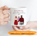 Personalized Coffee Mug For Mother-In-Law - To The World You Are A Mother, To Our Family You Are The World 003 - Personalized Gifts For Family