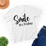 Smile It's Friday - Unisex Shirt For Pet Lovers - Gifts For Buddies