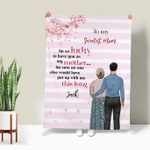 Personalized Blanket - To My Sweetest Mom Happy Mother's Day 002 - Personalized Gifts For Family