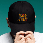 Super Hero Dad - Brushed Twill Unstructured Dad Cap - Gift Idea For Father's Day
