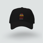 Proud Mom - Class of 2021 Graduation - Brushed Twill Unstructured Cap - Unisex Hat - Embroidered Hat - Family Matching Hat
