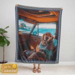 Custom Photo Blanket 001 - Personalized Blanket - Cozy Fleece Blanket - Personalized Gift For Pet Lovers