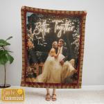 Custom Photo Blanket 004 - Personalized Blanket - Cozy Fleece Blanket - Personalized Gift For Family