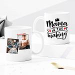 Mama In The Making - Custom Photo Mug - Personalized Two-sided Mug for Family