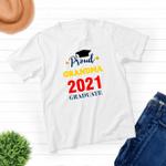 Proud Grandma - Class of 2021 Graduation - Unisex T-shirt - Family Matching T-Shirt