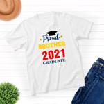 Proud Brother - Class of 2021 Graduation - Unisex T-shirt - Family Matching T-Shirt