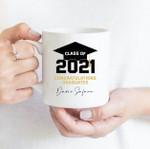 Coffee Mug - Custom Name 002 - Gift Ideas For Class of 2021 Graduation