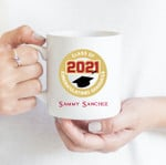Coffee Mug - Custom Name 003 - Gift Ideas For Class of 2021 Graduation