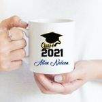 Coffee Mug - Custom Name 005 - Gift Ideas For Class of 2021 Graduation